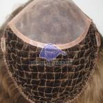 HS18:Parrucca Integrazione Capelli Rete in Poliestere Mono area Frontale