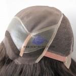 NTW1: Parrucca in Fine mono con Lace Frontale e Tempie e Fascia Elastica ai lati