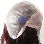 NTW4:Parrucca base in Poly con Rete Estensibile sulla Corona