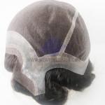 NTW5: Parrucca in Fine welded Mono Perimetro in Pelle e Mono Lace Frontale