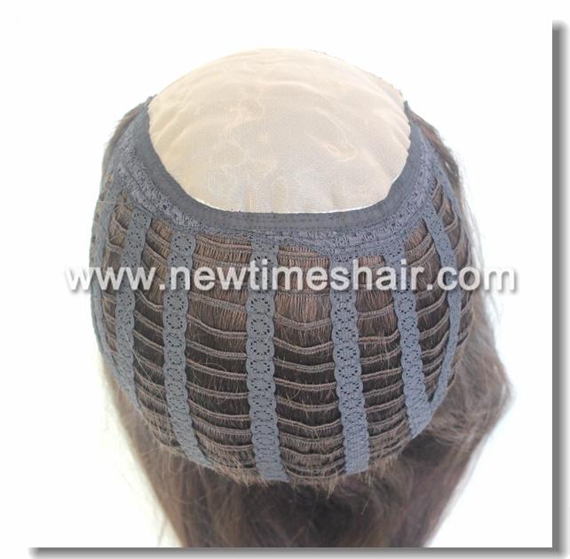 100% Human Hair Mono Top Wig for Women