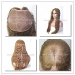 LW1678 Parrucca Parziale da Donna Capelli Lunghi