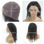 LX284 Parrucca da Donna in Completo Lace Capelli Ricci