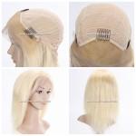 613 Parrucca Bionda da Donna con Lace Frontale
