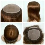 LW224 Stupenda Parrucca da Donna con Perimetro ad Integrazione