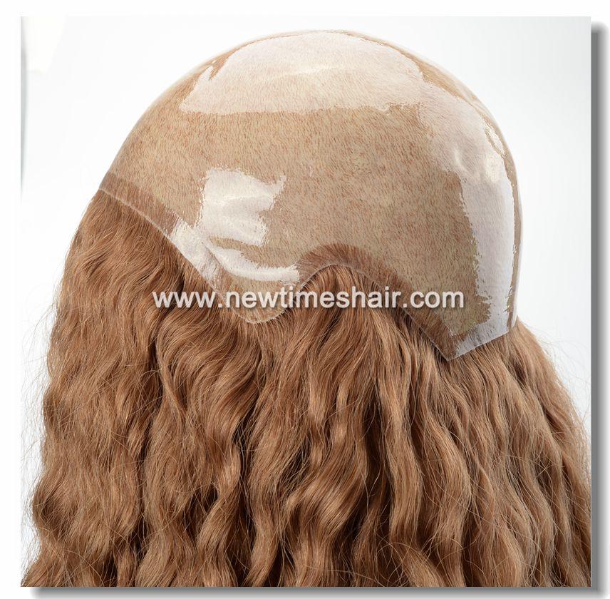 LW5200 Eccezionale Parrucca da Donna Innestata in Silicone