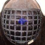 HS17:Parrucca Integrazione Capelli Fine Mono Frontale Rete in Nylone sul resto dell'unità