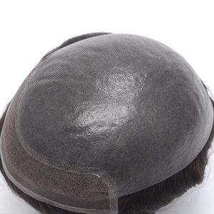 Modello uomo HS15+ Base in pelle ultra-sottile, trasparante e con Lace Frontale New Times Hair